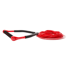 red wakboard rope and handle