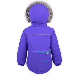 girls purple snow jacket boulder gear