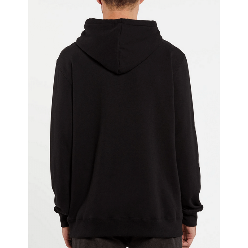 volcom stacked mens black p/o hoodie