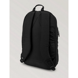 black backpack by volcom
