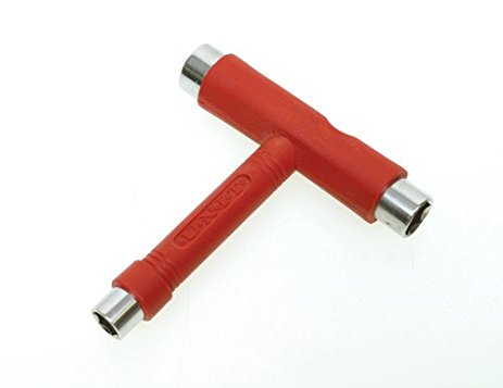 Unit Multi Functional Red Skateboarding Tool