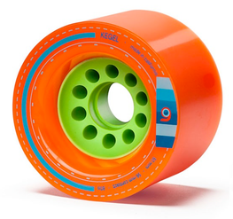 Orangatang Caguama 85mm 80a Orange Longboard Blem Wheels