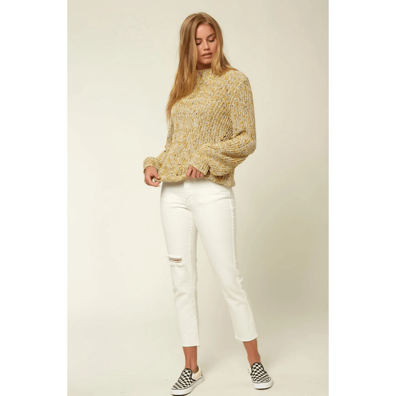 sweater o'neill yellow womens
