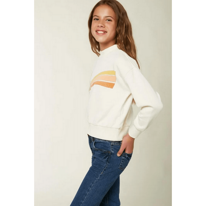 winter white oneill sweatshirt