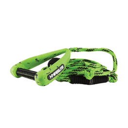 hyperlite green surf rope with handle