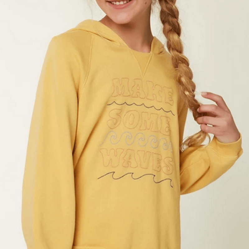 o'neill pullover fleece girls