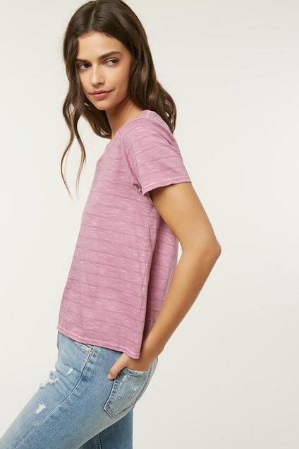 O'Neill Waylan Womens Purple Top