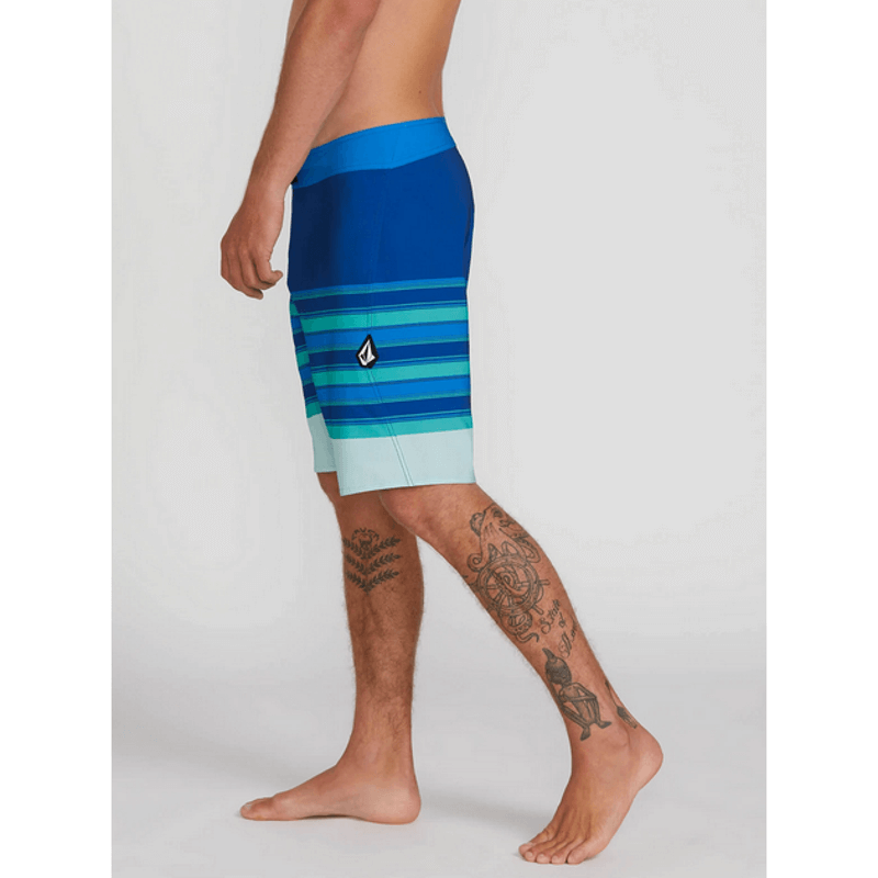 volcom technecal boardshort stripe