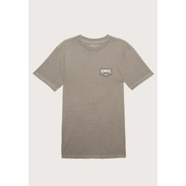 oneill mens lite grey tee shirt with small logo on front left chest