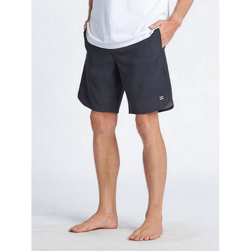 billabong mens swim trunks with scaloped edge