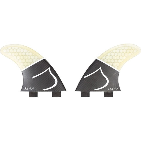 Liquid Force Carbon Side Fins 4.4 Inch Wakesurf Fin Kit