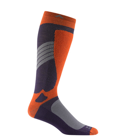Wigwam Pro Altitude Mens Red Clay Snowboard Socks