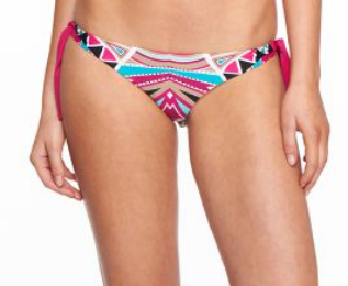 Body Glove Carnival Tie Side Womens Multi Bikini Bottom