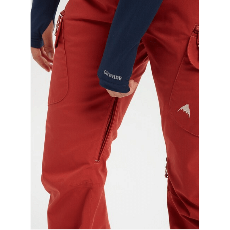 burton gloria pant with vent zips
