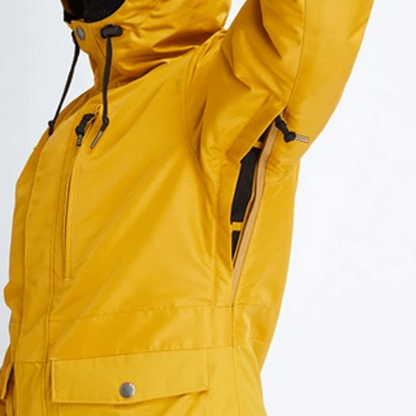 Airboaster jacket with pit vents