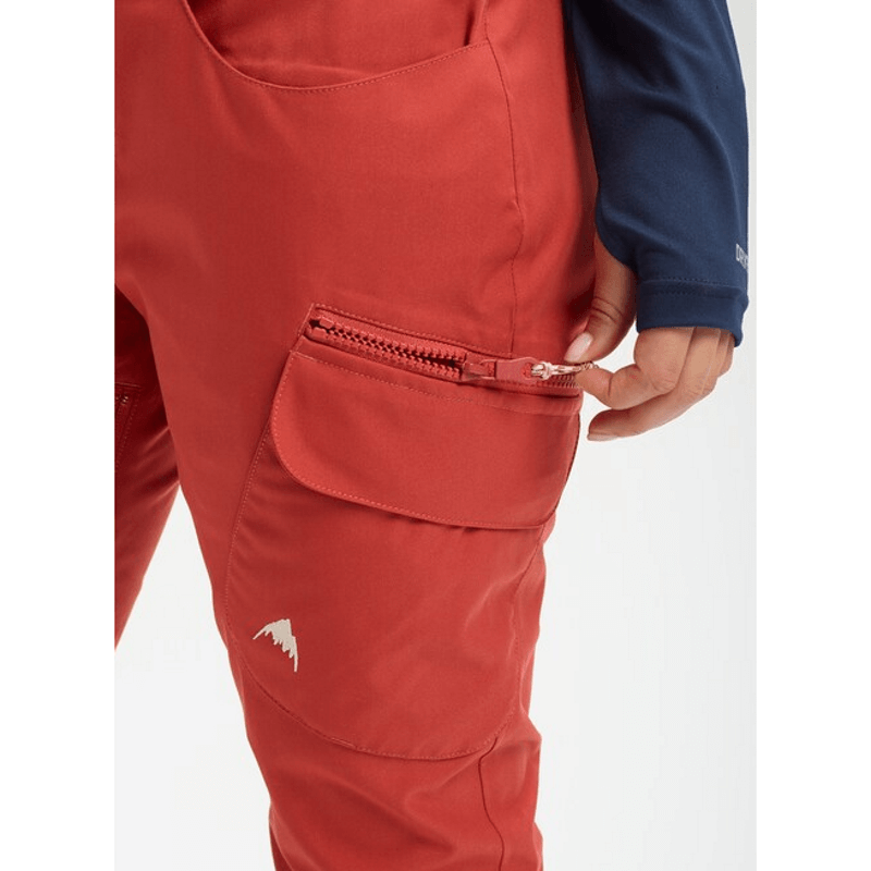 burton gloria pant with zip pockets