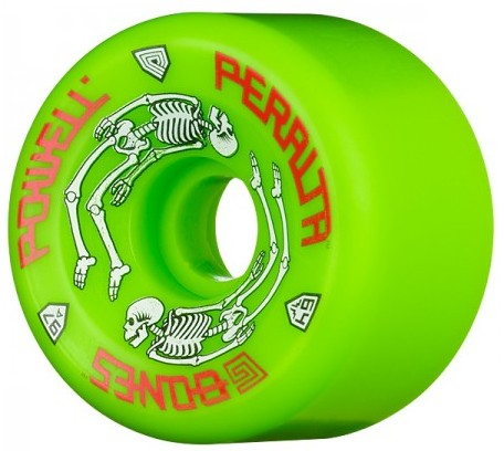 Powell Peralta G-Bones Green 64mm 97a Skateboard Wheels