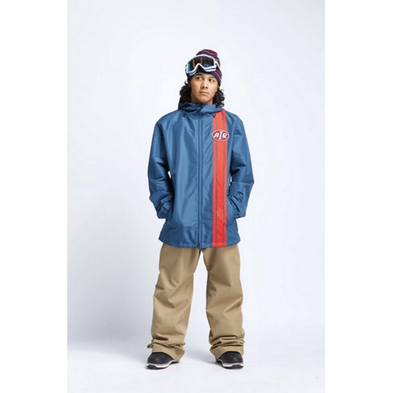 retro airblaster snow jacket navy
