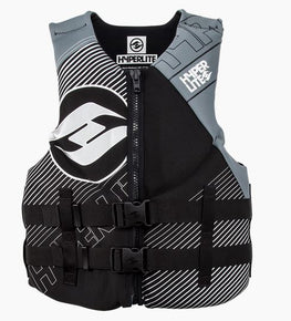 Hyperlite Indy Mens Neoprene Gray Wakeboard Vest