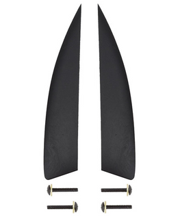 Hyperlite 1.3 Disorder 2 Pack Wakeboard Fin Kit