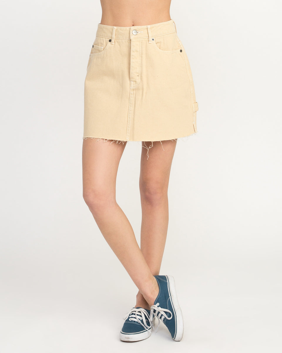 RVCA Hunn Neo Womens Denim Skirt