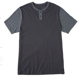 RVCA Pick Up Youth Boys Slate Knit Tee Shirt