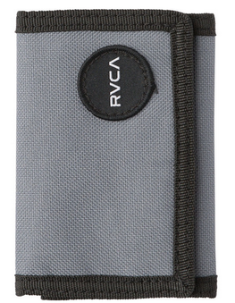 RVCA Motors Patch Grey Wallet