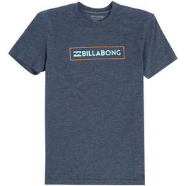 Billabong Unity Block Youth Boys Indigo Heather T Shirt