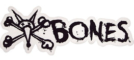 "Bones Vato Text 6"" Sticker Black"