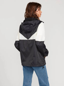 Volcom Wind Stoned Womens Black Jacket