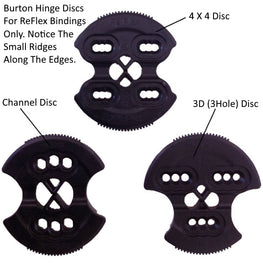 Burton ReFlex Hinge Disc Differences