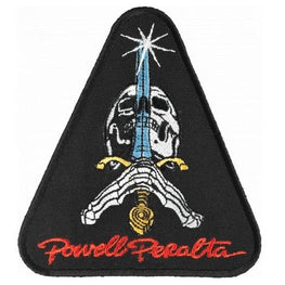 Powell Peralta Skull and Sword Skateboard Patch