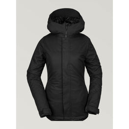 volcom snow jacket black