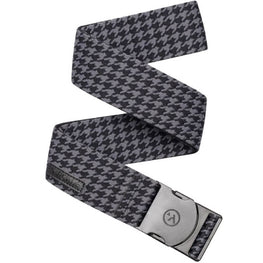 Arcade Black Houndstooth Stretch Belt