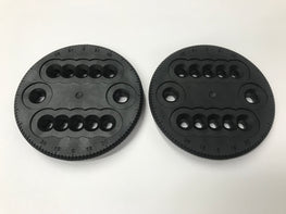 K2 Snowboard Binding 4 Hole Burton Channel Mini Standard Discs