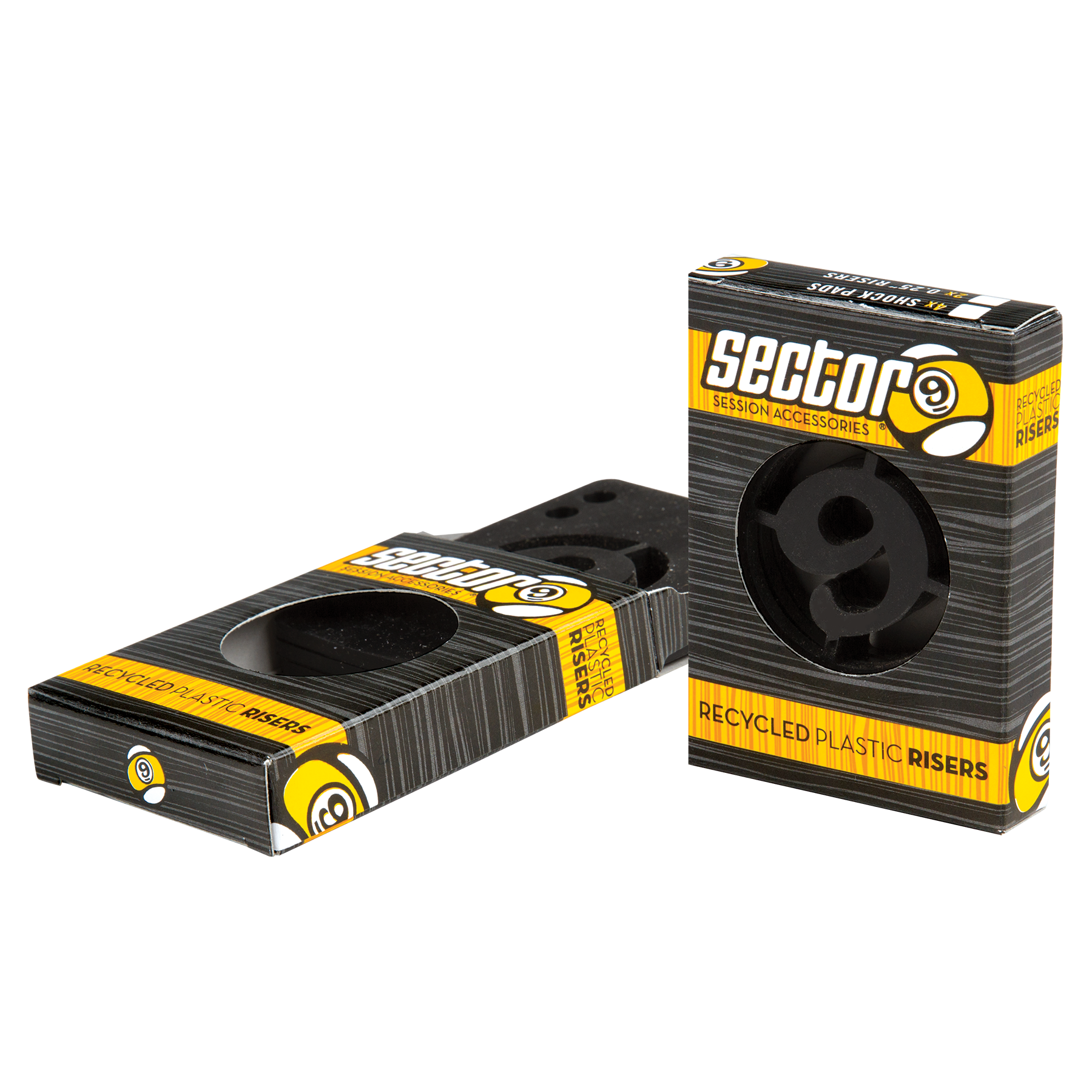 Sector 9 1/4 Inch Rigid Skateboard Risers