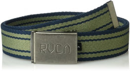 RVCA Corner Mens Blue/Green Web Belt
