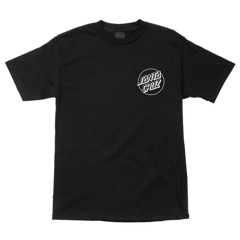 Santa Cruz Opus Dot Black T Shirt
