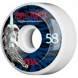 Powell Peralta Skull And Sword 58mm 90a Skateboard Wheels