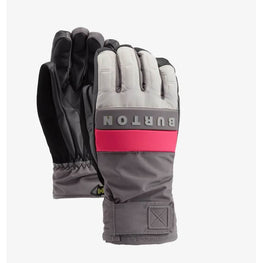 Burton Grey and Pink Backtrack glove