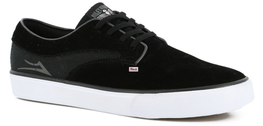 Lakai Riley Hawk Mens Black Suede Skate Shoes