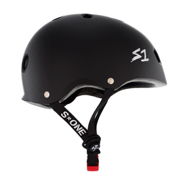 S One Mini Lifer Matte Black Skateboard Helmet