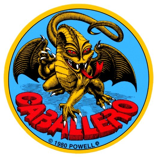 Powell Peralta Cab Original Dragon Sticker