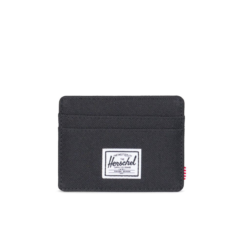 Herschel Charlie Mens Black Wallet