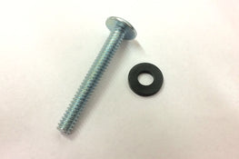 Hyperlite Steel Silver 10-24 1.5 Inch Fin Screw With Washer