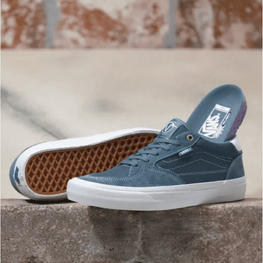 Vans Rowan Pro Mens Blue Skate Shoes