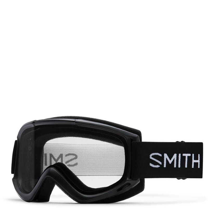 Smith Cascade Classic Clear Lens Black Goggles
