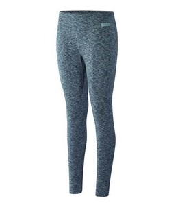 Terramar Cloud Nine Womens Grey Melange Base Layer Bottoms