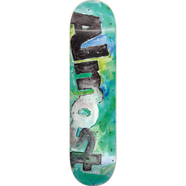Almost Color Bleed Teal 8 Inch Skateboard Deck