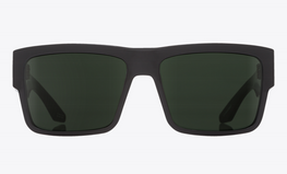 Spy Cyrus Soft  Matte Black/Happy Grey Green Polar Sunglasses